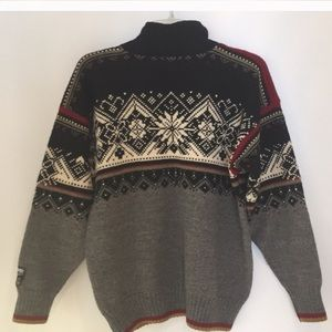 Dale of Norway UNISEX Wool Sweater-Size S